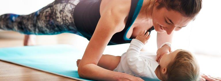 Sporten na de bevalling