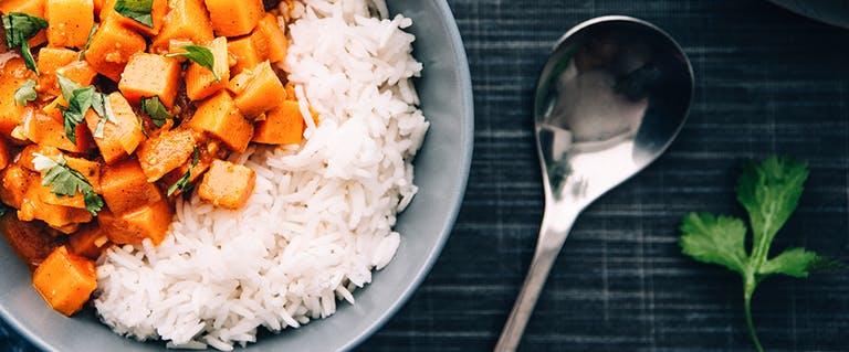 Vega Vrijdag: India fantasie met zoete aardappel
