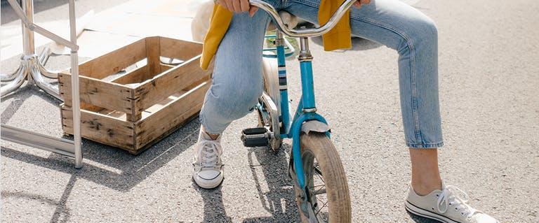De voordelen van naar je werk fietsen