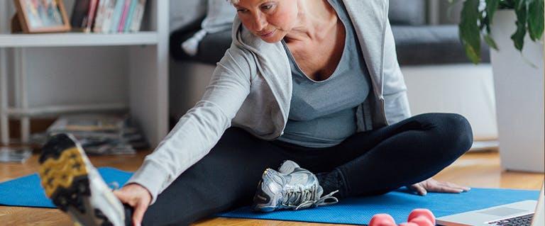 Voeding- en bewegingstips bij osteoporose