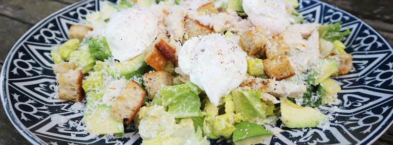 Zomers recept: De Caesar Salade