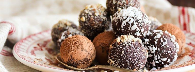 Wereld chocolade dag: Chocolate balls