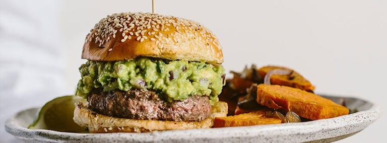 Junkfood Dag: Burger met guacamole