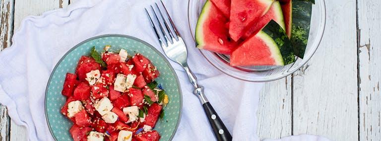 Watermeloendag: Watermeloen met munt en feta