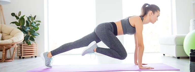Oefeningen voor thuis: Benen trainen