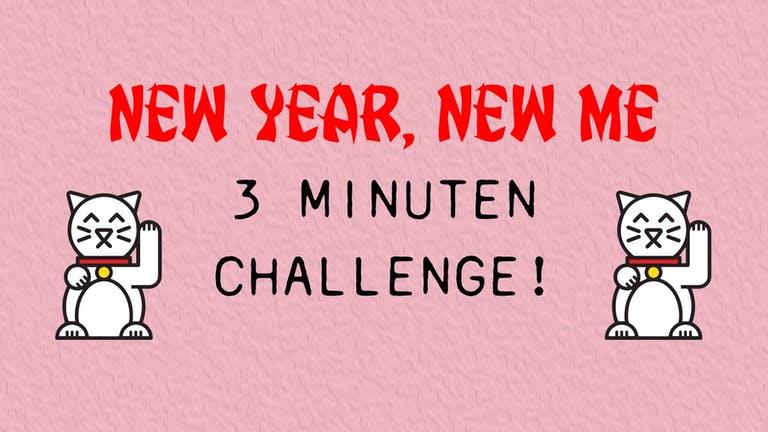 New year, new me Challenge: Week 4 !
