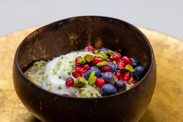Recept: Zuchinni oats met havermelk