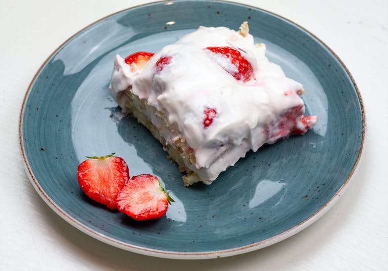 Recept: Aardbeien-kwark tiramisu