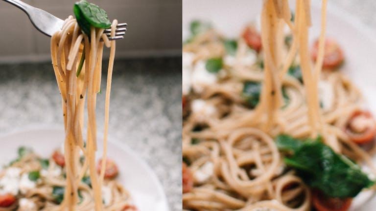 Vega Vrijdag: Snelle pasta met spinazie