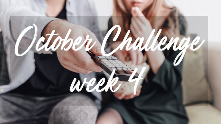 October Challenge week 4