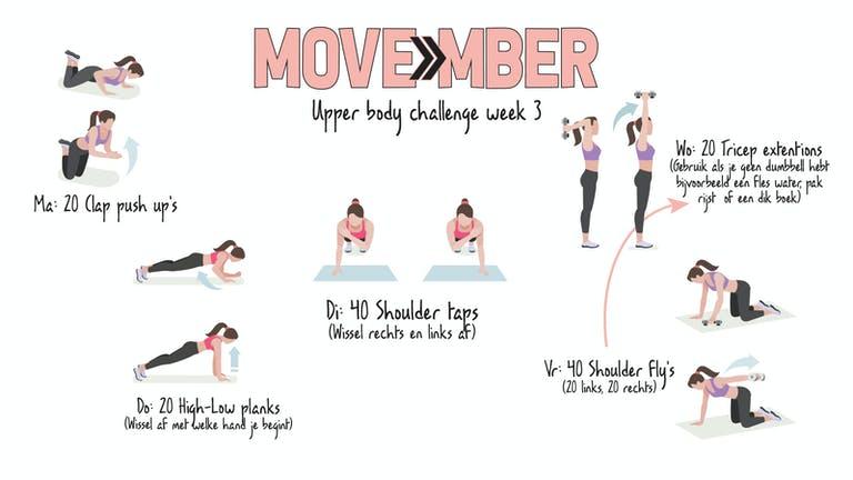 MOVEmber week 3!