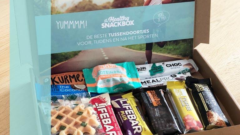 Gezond snacken met healthy snack box