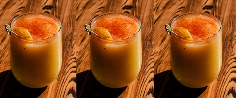 Recept: Koningsdag kurkuma smoothie