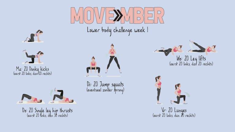 MOVEmber Week 1!