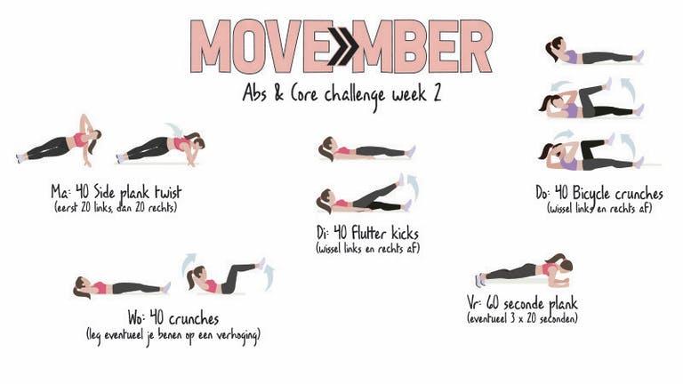 MOVEmber week 2!