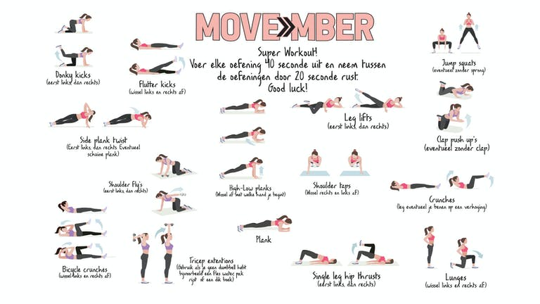 MOVEmber week 4!