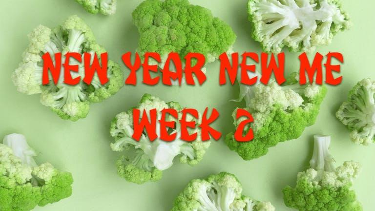 New year, new me Challenge: Week 2!